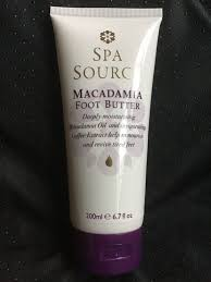 Spa Source Macadamia Foot Butter Thick Cream 6.7 Oz #SpaSource
