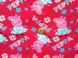 Peppa Pig Pink Cotton Jersey Interlock Fabric per Metre cot quilt ... & Image is loading Peppa-Pig-Pink-Cotton-Jersey-Interlock-Fabric-per- Adamdwight.com