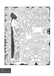 colorourcollections with an art nouveau colouring book europeana