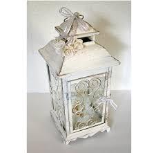 Wedding Lantern Centerpiece 10in Vintage Antique Ivory Wedding Lanterns For Sale