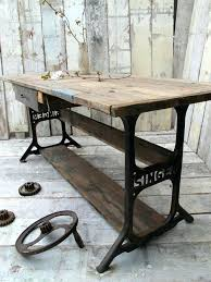 industrial furniture ideas. Recycled Industrial Furniture Ideas To Recycle Vintage Sewing Machines  And Timber Industrial Furniture Ideas I