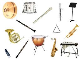 Image result for band instruments