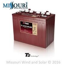trojan t1275 plus 12 volt flooded acid battery missouri wind and trojan t1275 plus 12 volt flooded acid battery