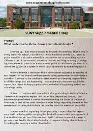 suny supplemental essay help supplemental application suny supplemental essay