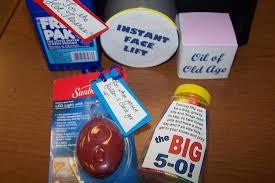 funny 50th birthday gift ideas