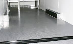enclosed trailer rubber coin flooring designs