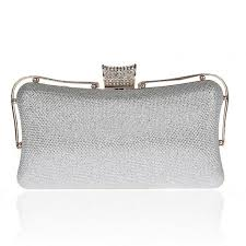 <b>Silver Evening Bag</b> Fashion <b>Clutch Purse</b> for <b>Party</b> | <b>Party evening</b> ...