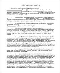 event agreement contract sample event contract form 10 free documents in word pdf