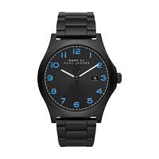 men s marc jacobs mbm5059 jimmy watch francis gaye jewellers marc jacobs men s black steel jimmy bracelet watch mbm5059