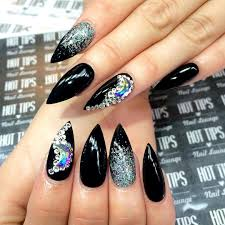 Pointed Nail Art Designs Project For Awesome Nail Art For Pointed ...