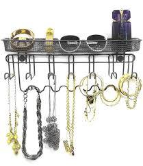 Jewelry Holder Wall Amazoncom Sorbus Jewelry Organizer Holder Mail Key Rack 13