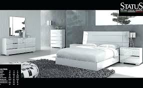 Modern White Bedroom Furniture Top Lacquer Sets – smartdining.co