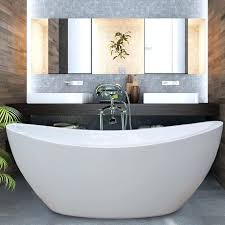 acrylic freestanding bathtub on home bathtubs