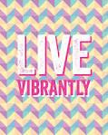 vibrantly