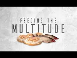 Image result for feeding the multitude