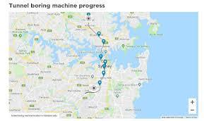 Sydney Metros New Tunnel Boring Machine Tracker