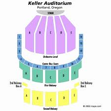 Newmark Theater Portland Seating Chart 73 Elegant Pics Of Keller Auditorium Seating Chart