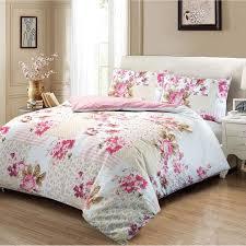 100 cotton rose fl flower duvet cover set