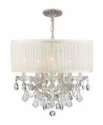 drum crystal chandelier home design ideas lighting ideas