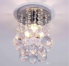2019 ceiling lights modern crystal flush porch light mini crystal lighting vestibule lighting ceiling mounted led porch lighting led step lights from