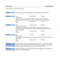 resume formats for free resume business resume template word in business resume templates