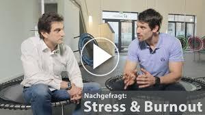 stress oder burnout bellicon reg training setzt endorphine frei screenshot aus dem interview mit dr ben baak zum thema stress und burnout mit