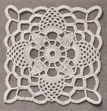 Crochet Tablecloth Pattern Adorable Vintage Crochet PATTERN To Make Tablecloth MOTIF BLOCK Bedspread