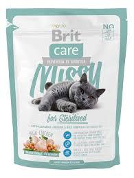 Сухие <b>корма</b> для кошек <b>Brit</b>