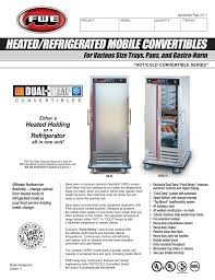 Heated Refrigerated Mobile Convertibles For Various Size