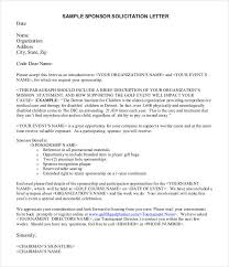 Letter Sponsorship Magnificent 48 Sponsorship Letter Templates PDF DOC Free Premium Templates