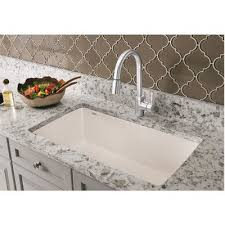 HOUZER Medallion Series Undermount Stainless Steel 23 In Single 25 Inch Undermount Kitchen Sink