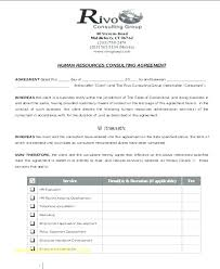 Consultant Contract Template Custom 44 Retainer Agreement Samples Contract Template Letter Sample