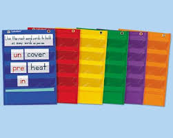 Learning Center Pocket Chart Learning Center Pocket Charts Set Of 6 Music Classroom
