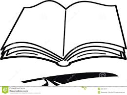 Livre Et Clavette De Dessin Anim Illustration De Vecteur