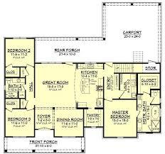 floor plan first story of acadian plan 142 1163