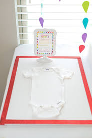 Design A Onesie Baby Shower Baby Shower Crafts Decorate Onesies For Mom To Be