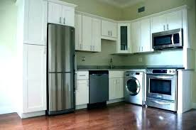 counter depth washer and dryer. Contemporary Washer Under Counter Washer Dryer Combo Laundry  Room With Cream Cabinets Transitional  To Counter Depth Washer And Dryer T