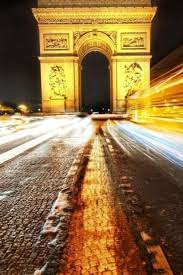 long exposure arc de triomphe paris