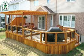 building a pergola on deck wooden designs for decks plans over p39