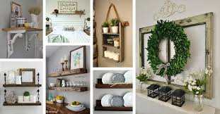 26 farmhouse shelf decor ideas that are both functional and gorgeous