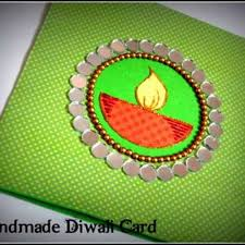 Ideas For Making Diwali Charts Diwali Homemade Greeting Cards Ideas Family Holiday Net