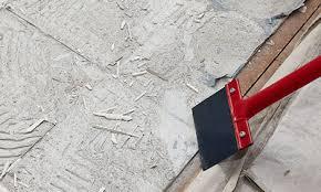se off floor tile glue
