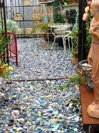 tumbled glass for landscaping tumbled glass mulch glass mulch for your garden footnotes tumbled glass landscape rocks