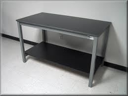 metal industrial furniture. Laboratory Table - Metal Frame With Solid Surface Top Industrial Furniture