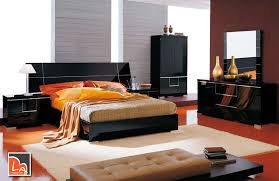 Alf Siena Bed Made In Italy Modern Bedroom Set Beauteous Black Contemporary Bedroom Set