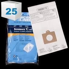kenmore vacuum bags 50403. bav137cs-25 kenmore paper bag type 10pk 5055 50403 50558 50557 panasonic c5 case of kenmore vacuum bags