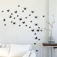 erfly wall decoration ideas stylish diy paper fresh with regarding 13