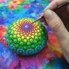 rock art mandala stones elspeth mclean canada 19