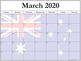 Month Of March Calendar 2020 Collection Of March 2020 Photo Calendars With Image Filters