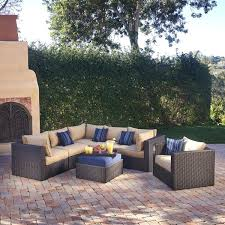 mission hills outdoor furniture home design astounding inspiration mission hills outdoor furniture 7 piece modular seating